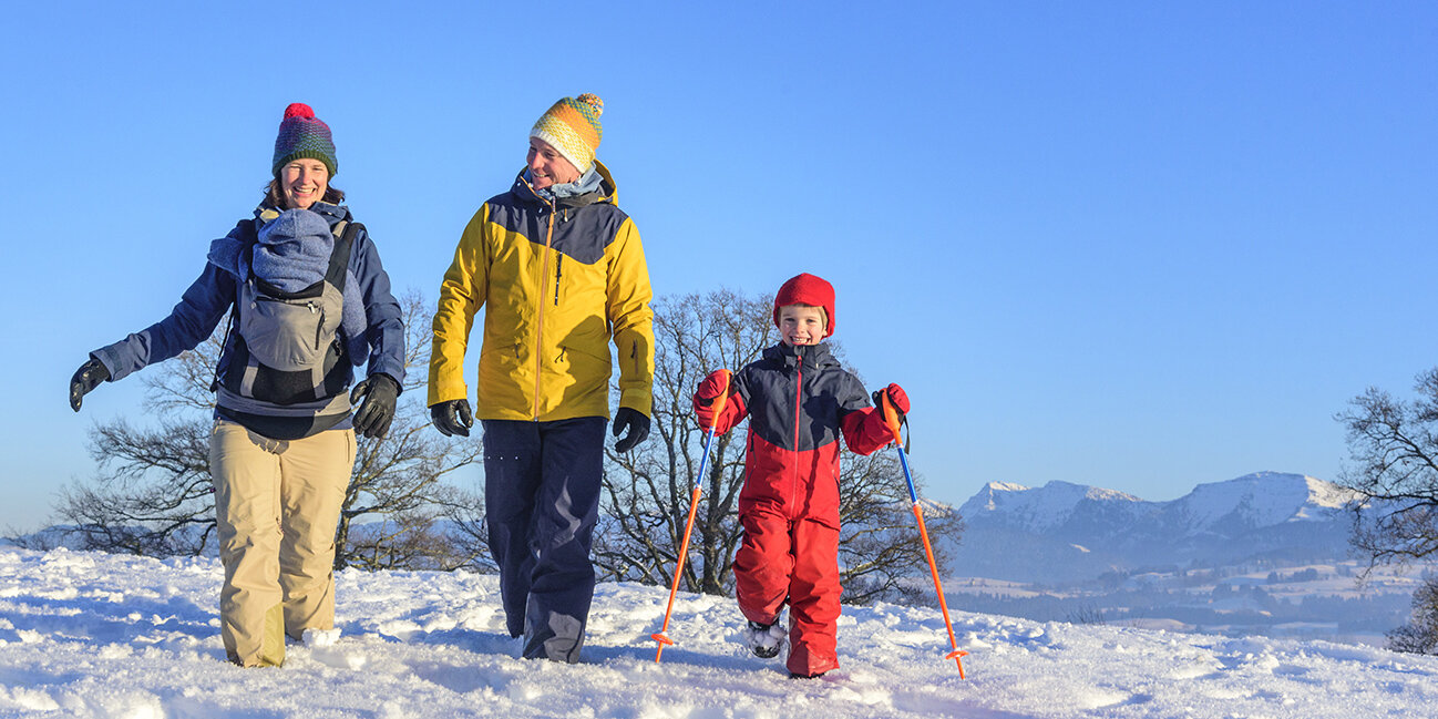 Urlaub mit der Familie im Allgäu