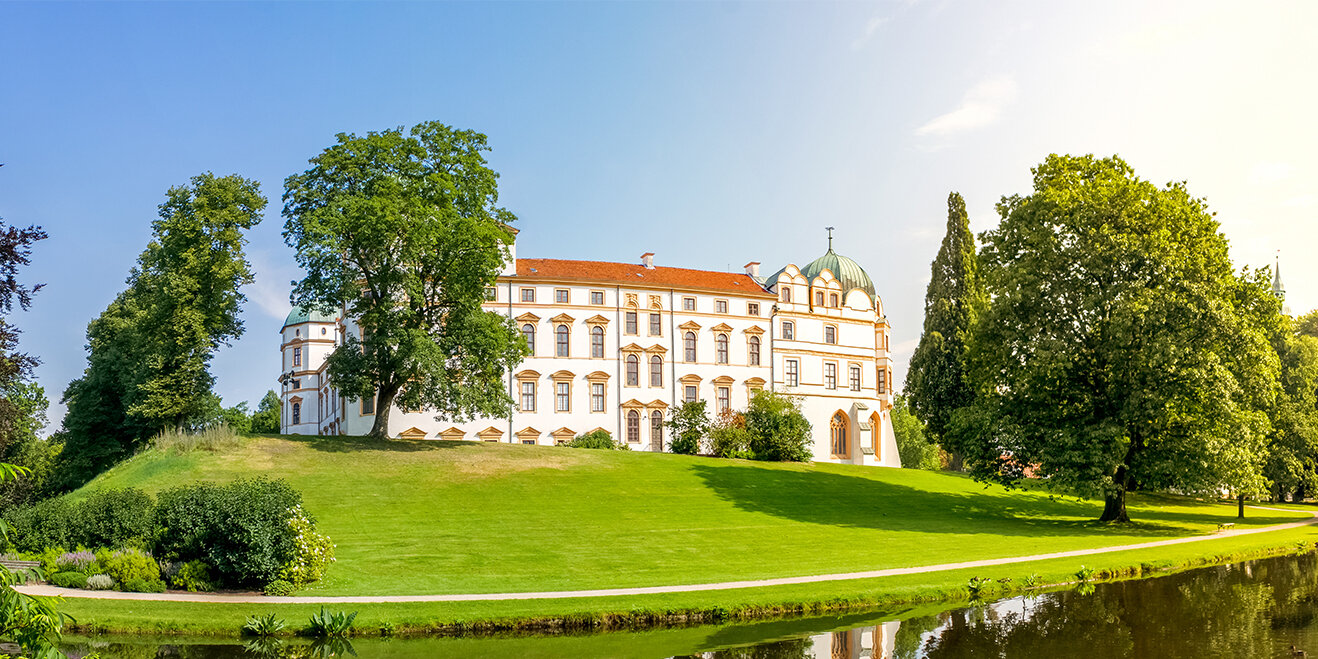 Schloss in Celle in der Lüneburger Heide