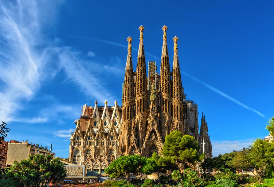 MSC Grandiosa, Sagrada Familia Barcelona