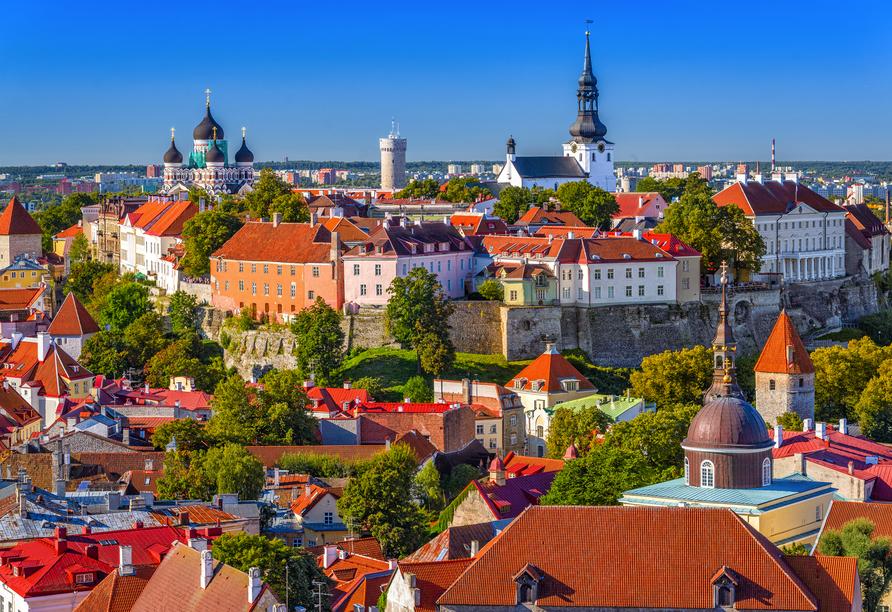 Tallinn, Estland Skyline