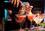 Hotel Villa Martini in Misdroy an der Polnischen Ostsee, Beispielbild Cocktails