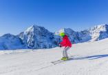 Hotel Bellevue Wiesen, Skifahren