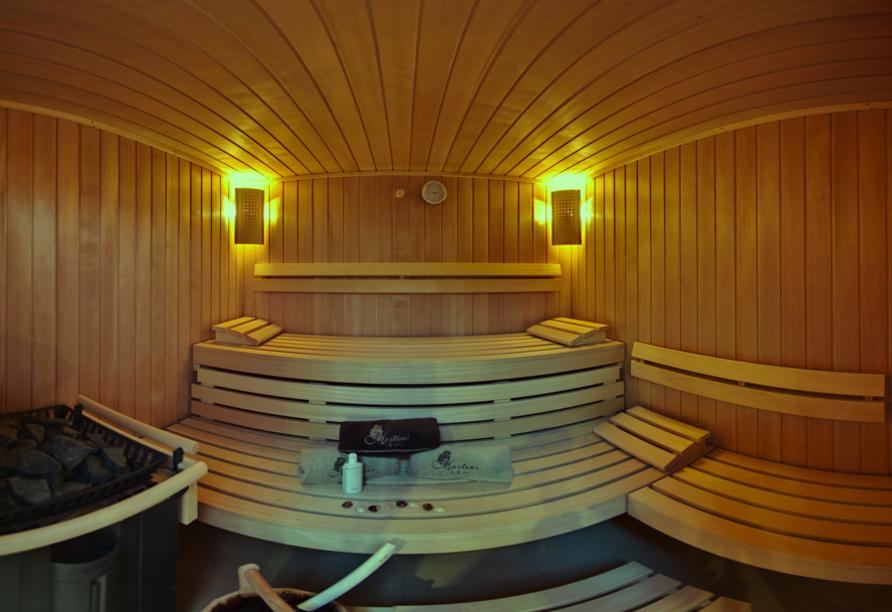 Hotel Villa Martini in Misdroy an der Polnischen Ostsee, Sauna