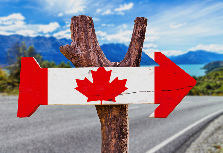Erlebnisreise Osten Kanada, Pfeil