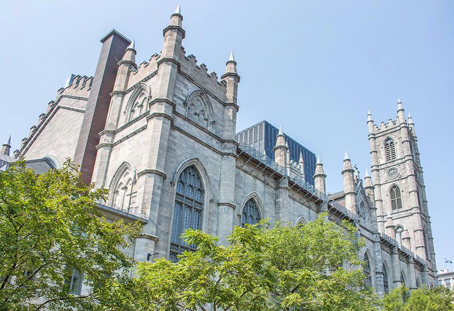 Erlebnisreise Osten Kanada, Kathedrale Notre Dame