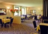 Hotel Waldkur, Leer, Ostfriesland, Frühstücksraum