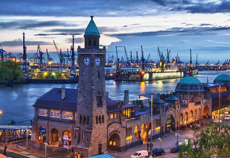 Parkhotel Hamburg Arena in Hamburg, Hafen