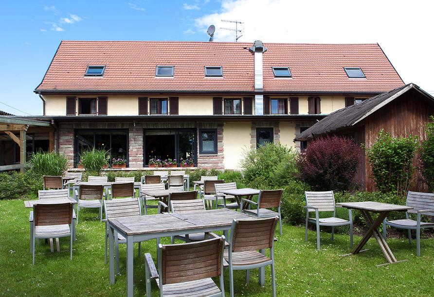 Brit Hotel Relais du Ried in Bischwihr, Garten