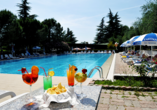 Hotelkomplex Palme, Poollandschaft
