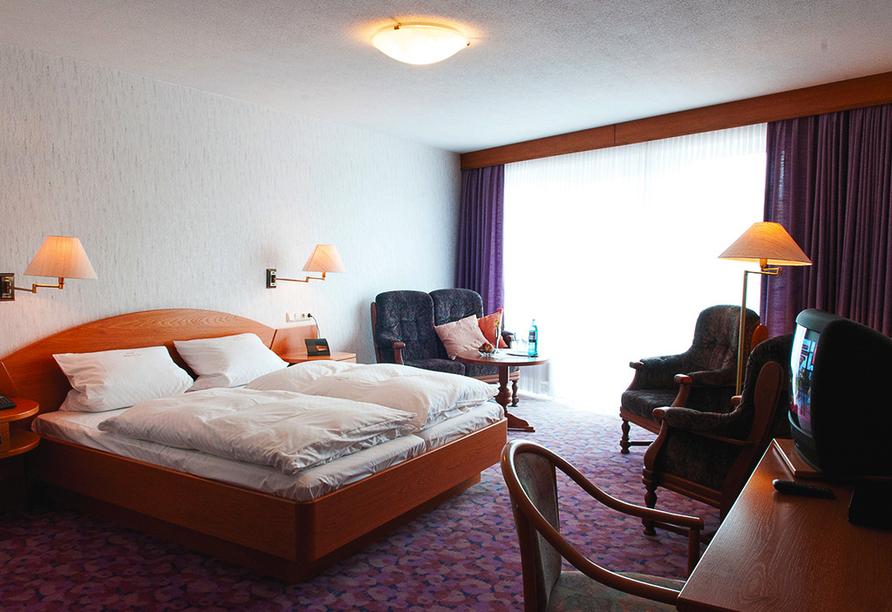 Hotel Haus am See in Simmerath-Einruhr, Beispiel Doppelzimmer Hüttenberg