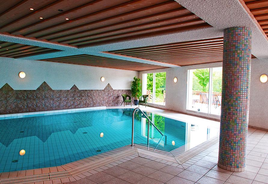 Hotel Haus am See in Simmerath-Einruhr, Hallenbad