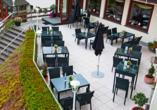 Hotel Haus am See in Simmerath-Einruhr, Terrasse