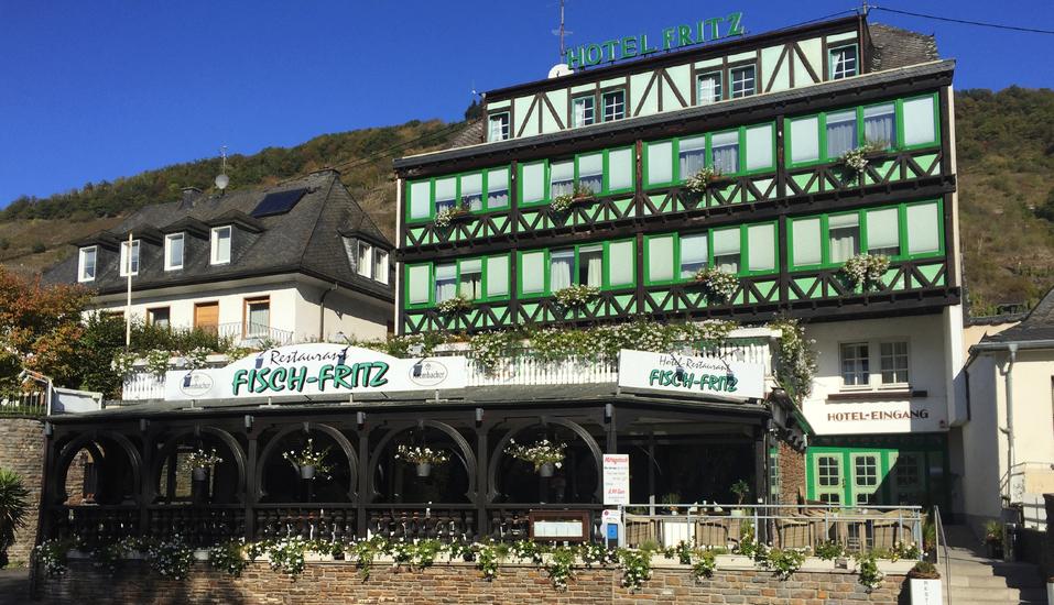 Hotel Fritz in Valwig an der Mosel Außenansicht