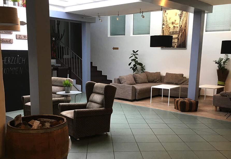Hotel Fritz in Valwig an der Mosel Lobby