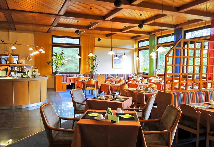 Landhotel Wasgau in Hauenstein, Pfälzerwald, Restaurant