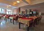 Hotel Rezydencja Korab in Misdroy an der polnischen Ostsee, Restaurant