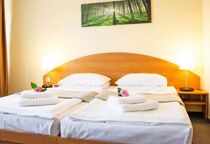 astral'Inn Hotel & Restaurant Leipzig, Zimmer