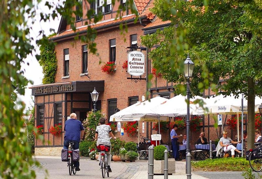 Hotel Altes Gasthaus Lanvers Emsdetten Münsterland, Außenansicht