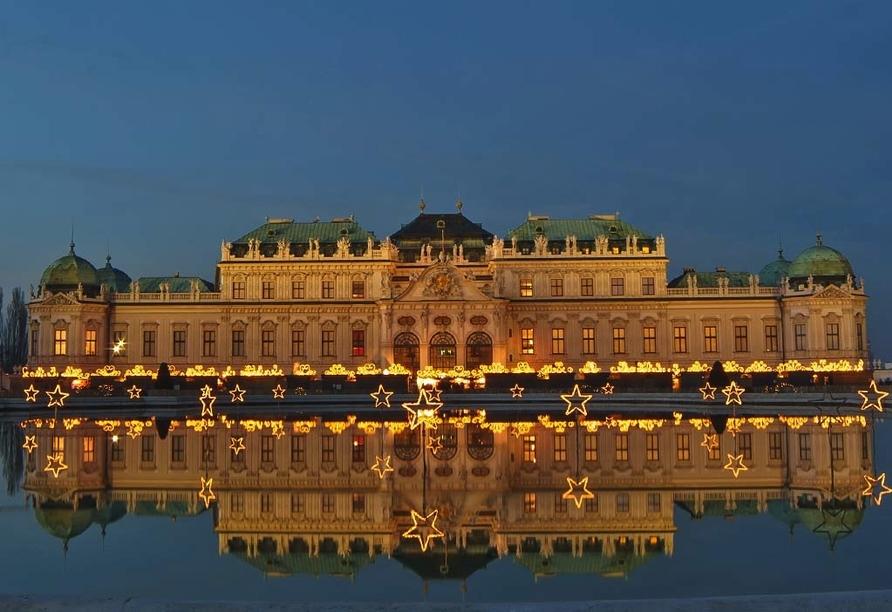 Hotel Mozart in Wien, Österreich, Schloss Belvedere