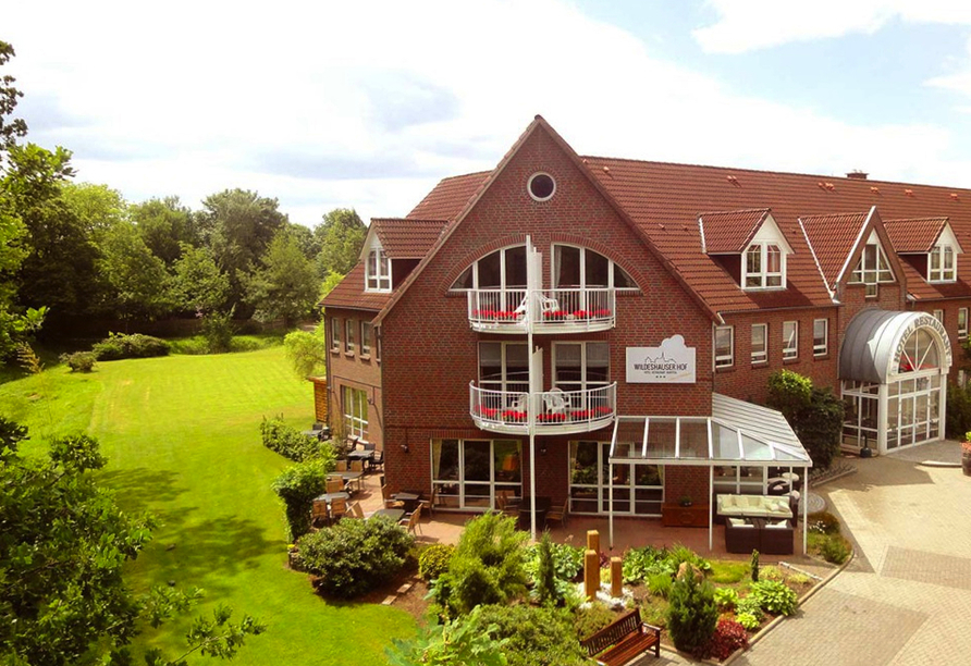 Hotel Wildeshauser Hof in Wildeshausen, Außenansicht