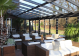 Hotel Wildeshauser Hof in Wildeshausen, Outdoor-Lounge