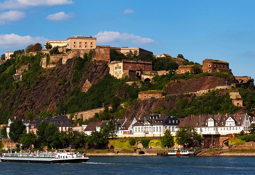 Mercure Hotel Koblenz, Festung Ehrenbreitstein