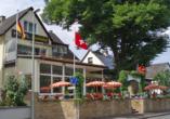 Hotel Lindenhof Osterspai Rhein, Außenansicht