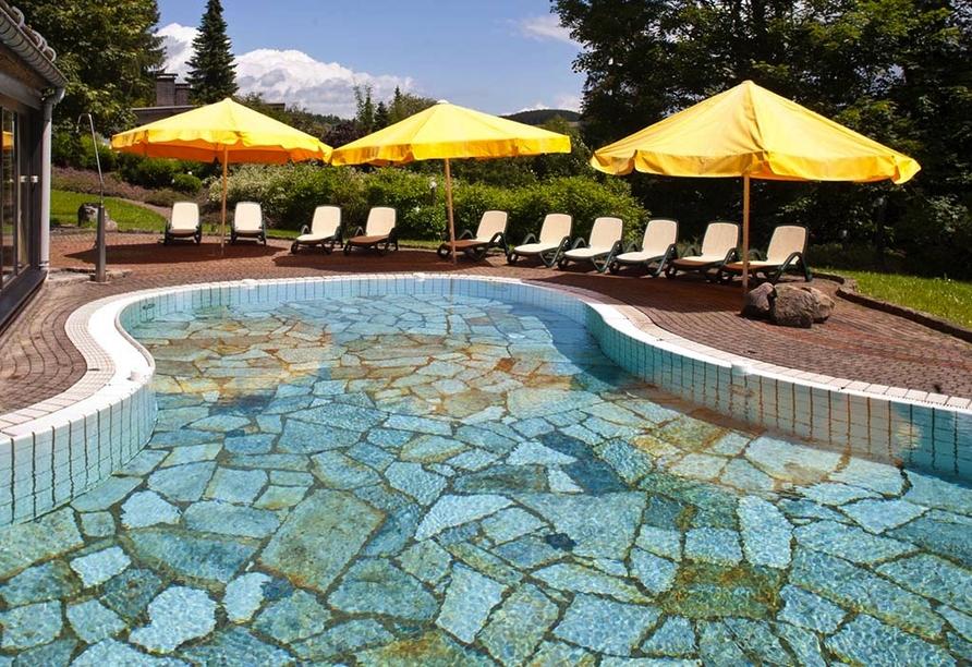 Romantik Hotel Stryckhaus, Außenbecken