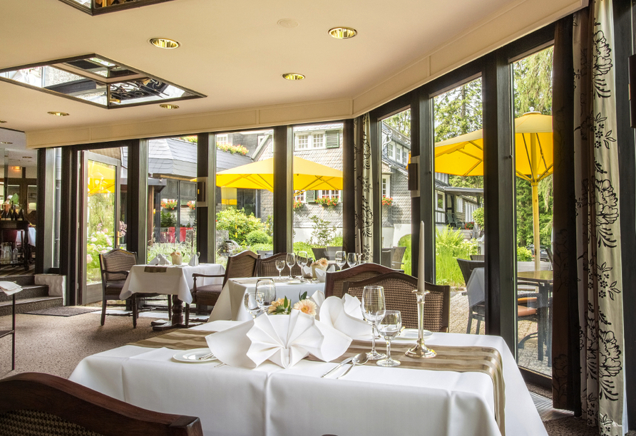 Romantik Hotel Stryckhaus, Restaurant
