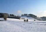 Romantik Hotel Stryckhaus, Winterlandschaft