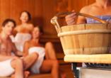 Hotel Narcis in Rabac in Istrien, Sauna