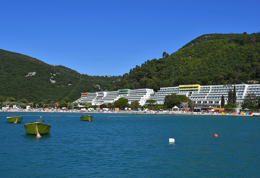 Hotel Narcis in Rabac in Istrien, Panorama
