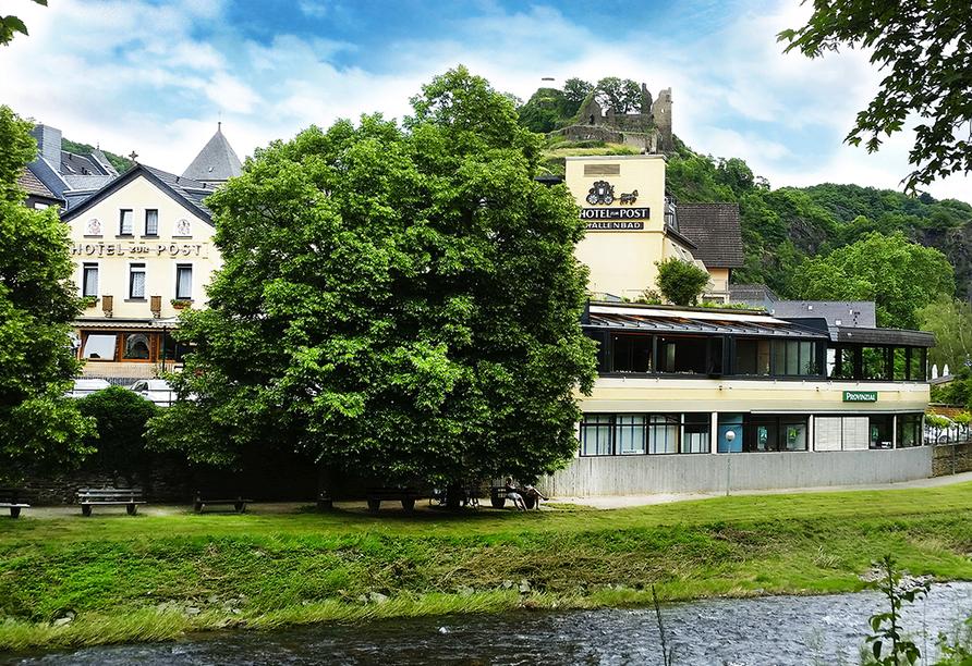 Hotel Zur Post, Altenahr, Ahrtal, Außenansicht