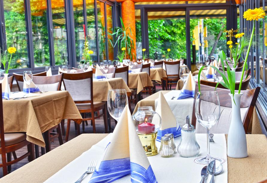 Hotel Zur Post, Altenahr, Ahrtal, Restaurant Ahrblick