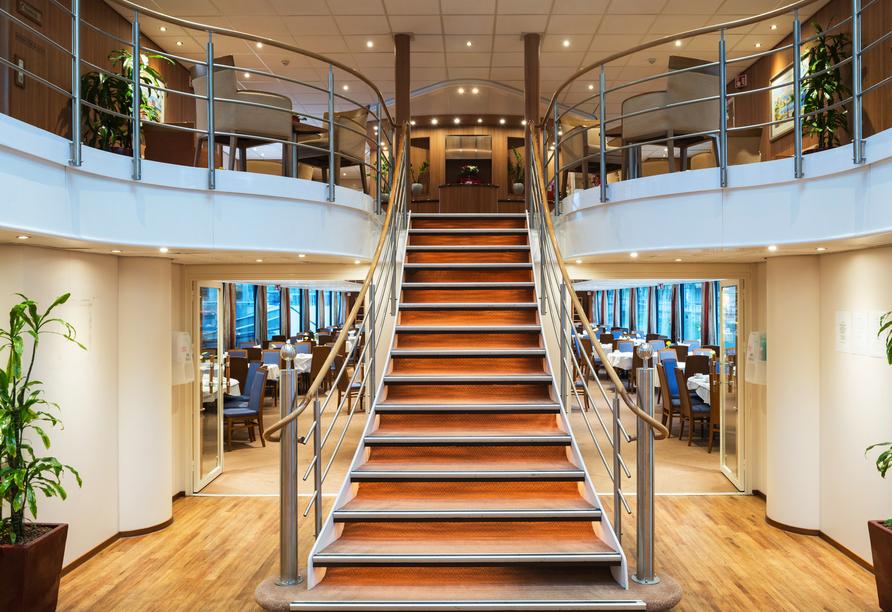 MS Rhein Symphonie, Lobby