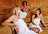 Hotel Reschenhof in Mils Tirol, Sauna