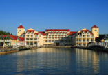 Maritim Hafenhotel Rheinsberg, Außenansicht