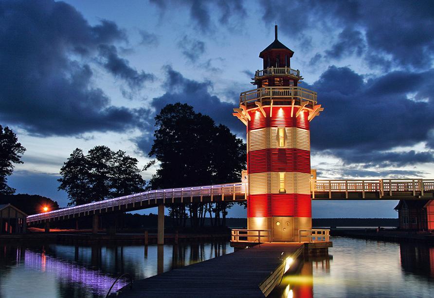 Maritim Hafenhotel Rheinsberg, Leuchtturm
