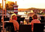 Maritim Hafenhotel Rheinsberg, Terrasse