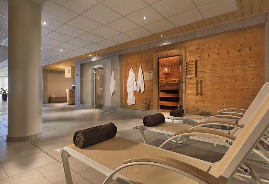 Maritim Hafenhotel Rheinsberg, Sauna