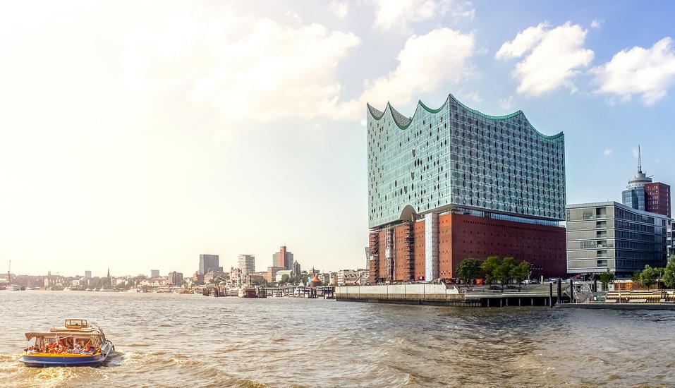 Hotel Blankenese in Hamburg, Elbphilharmonie