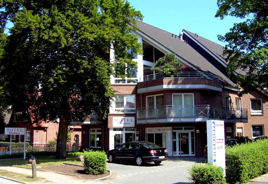 Hotel Blankenese in Hamburg, Außenansicht