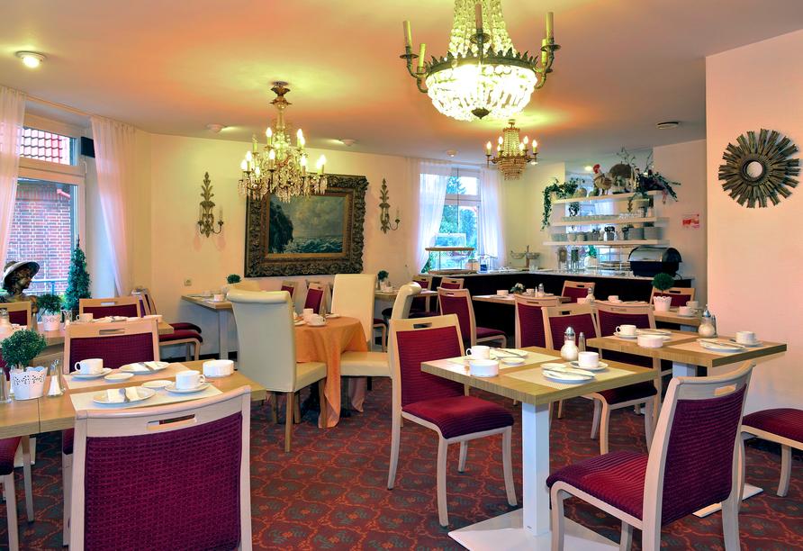 Hotel Blankenese in Hamburg, Frühstücksraum