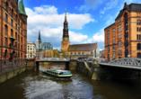 Hotel Blankenese in Hamburg, Speicherstadt