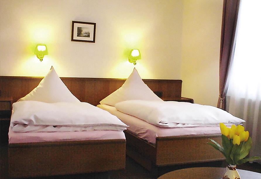 Landhotel Am Alten Zollhaus in Zschorlau im Erzgebirge, Doppelzimmer