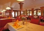 Landhotel Gabriele in Unterwossen am Chiemsee, Restaurant