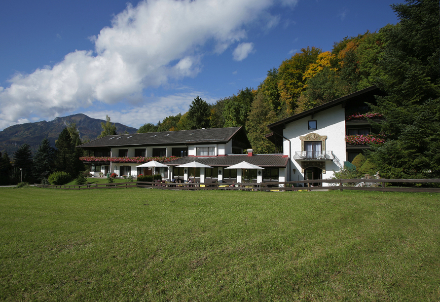 Landhotel Gabriele in Unterwossen am Chiemsee, Außenansicht