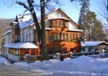 Hotel Swieradow in Bad Flinsberg in Niederschlesien, Außenansicht