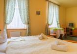 Hotel Swieradow in Bad Flinsberg in Niederschlesien, Zimmerbeispiel Doppelzimmer