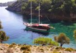 Blaue Reise Türkei, Gulet